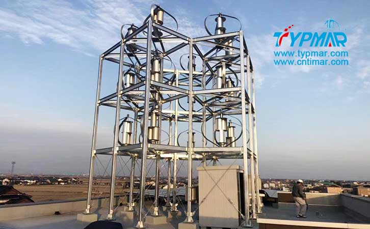 日本屋顶磁悬浮风力发电机组