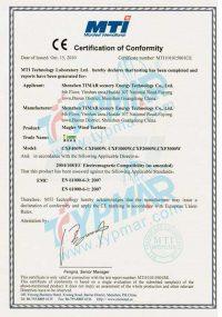 CE证书-泰玛磁悬浮风力发电机CXF系列