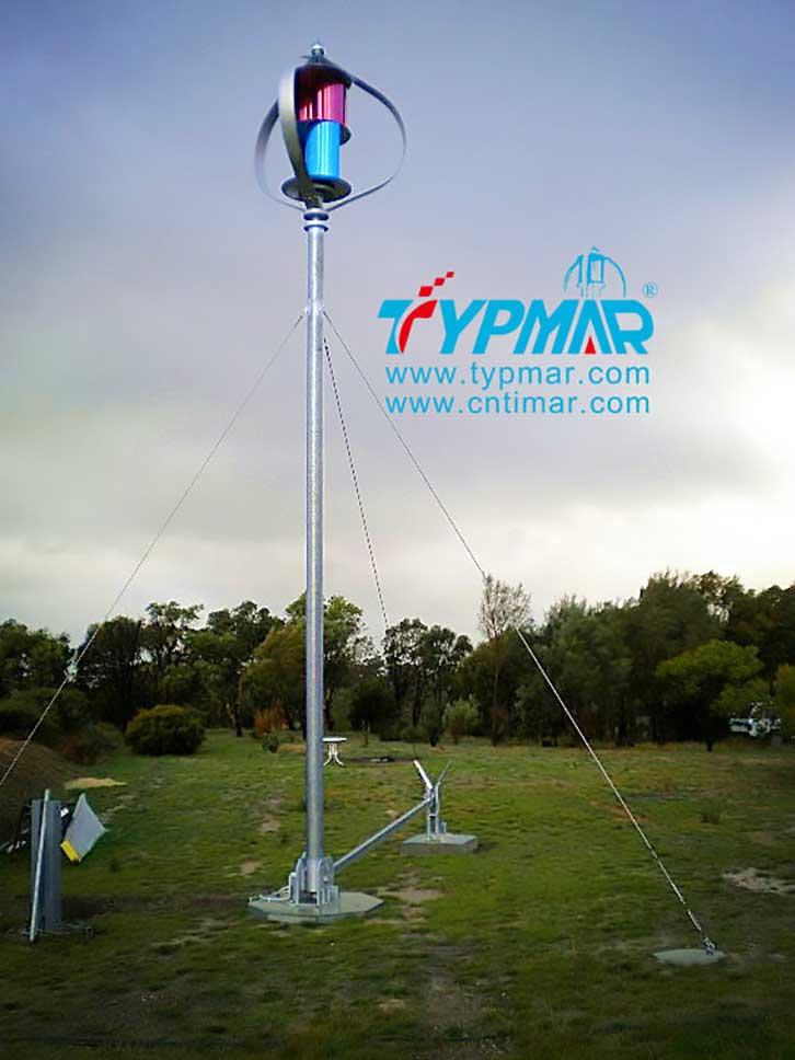 澳大利亚风光互补路灯工程案例