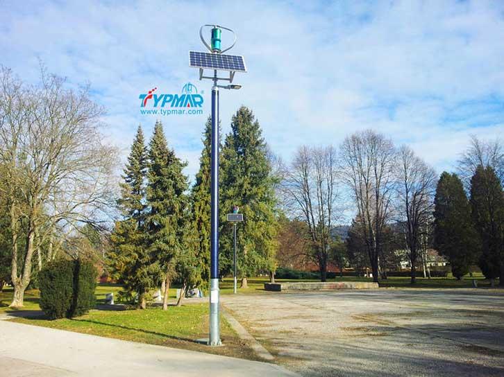 斯洛文尼亚风光互补路灯系统