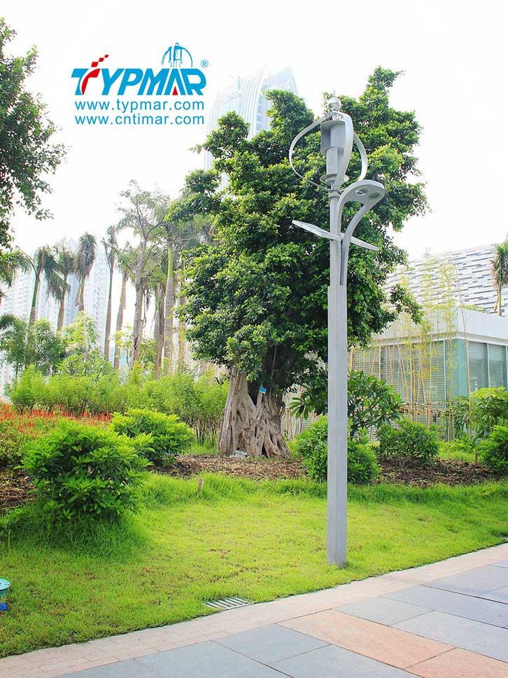 广州亚运会风光互补路灯工程风光互补发电系统
