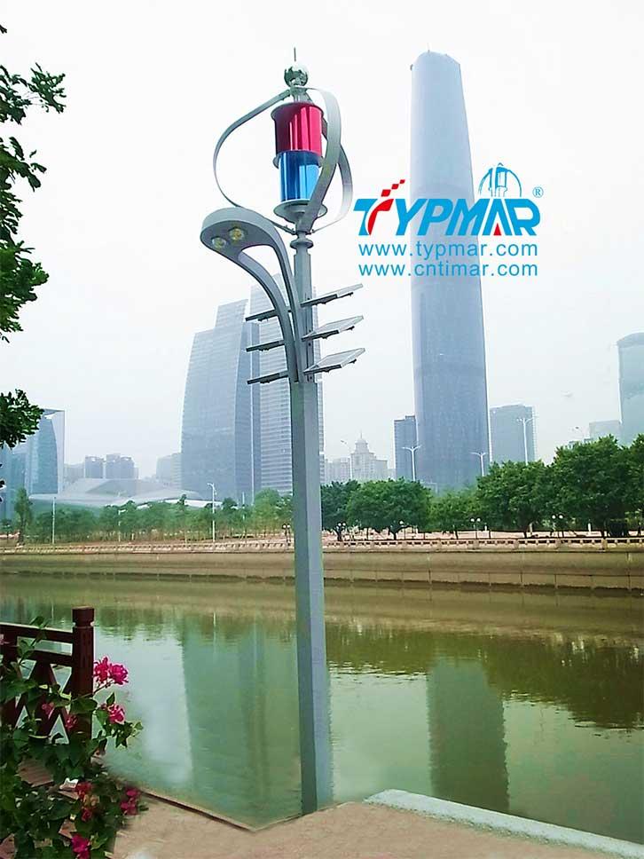 广州亚运会风光互补路灯工程 风光互补系统