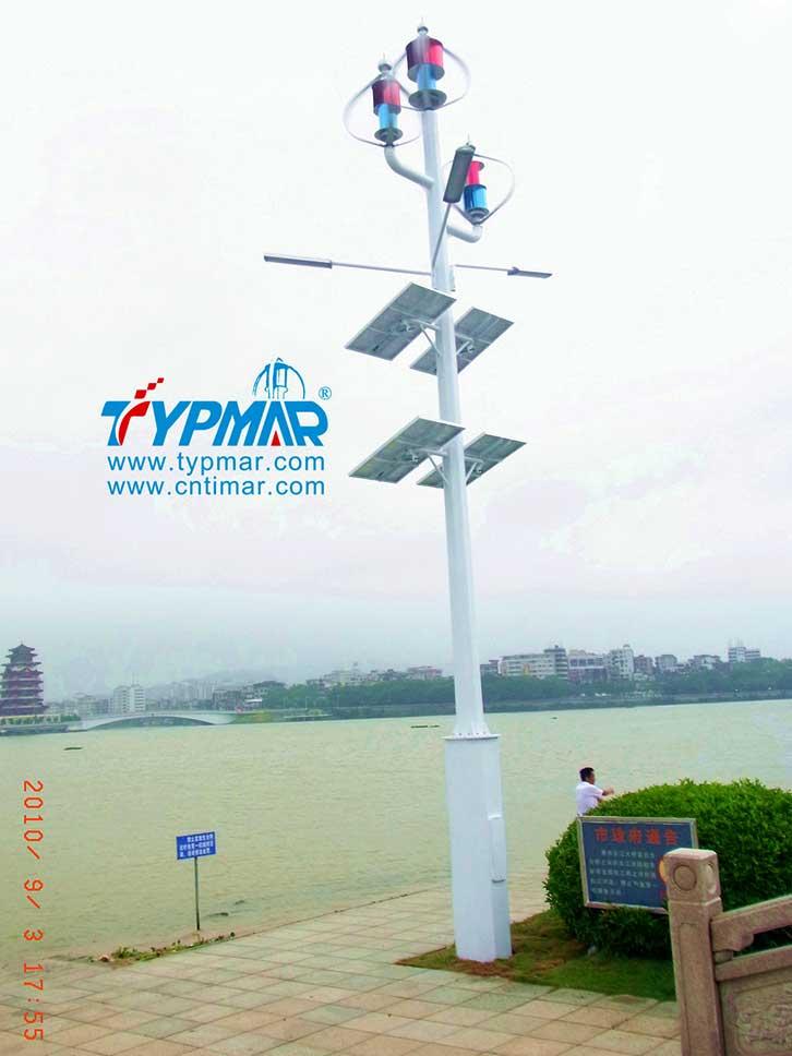 惠州景区江边工程 风力发电机