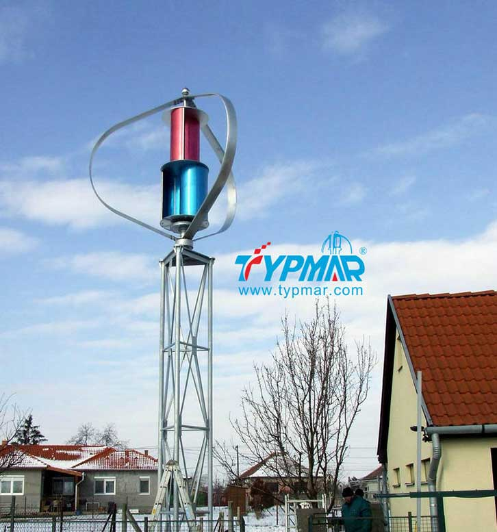 匈牙利家用风力发电系统