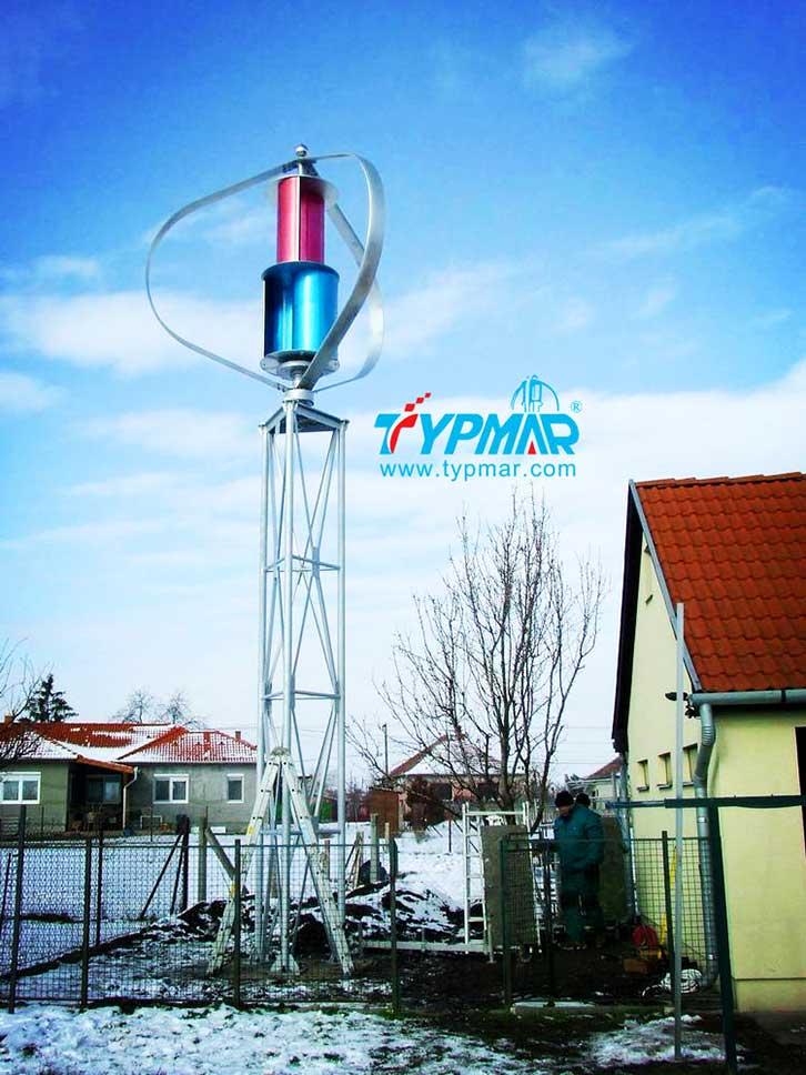 匈牙利家用风力发电系统 磁悬浮风力发电机3KW