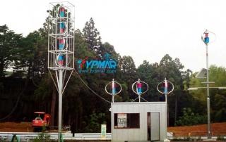 日本组合风机系统 风力发电机系统