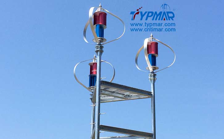 日本磁悬浮风力发电机组