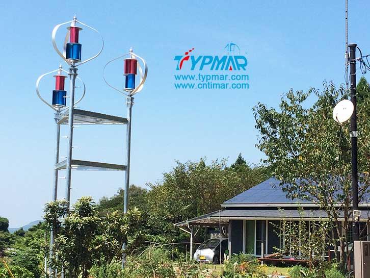 日本磁悬浮风力发电机组 风光互补供电系统