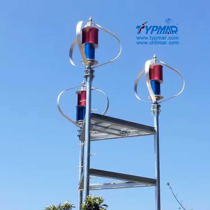 日本磁悬浮风力发电机组 组合系统