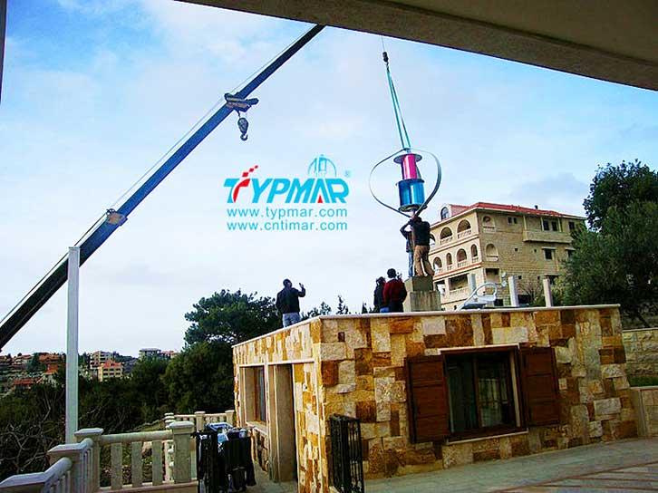 黎巴嫩居民社区供电系统安装