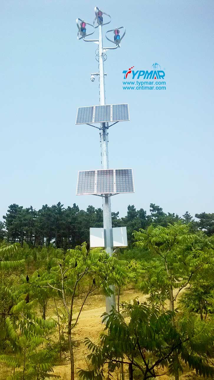 辽宁朝阳文物保护区监控供电系统 风光互补监控供电系统