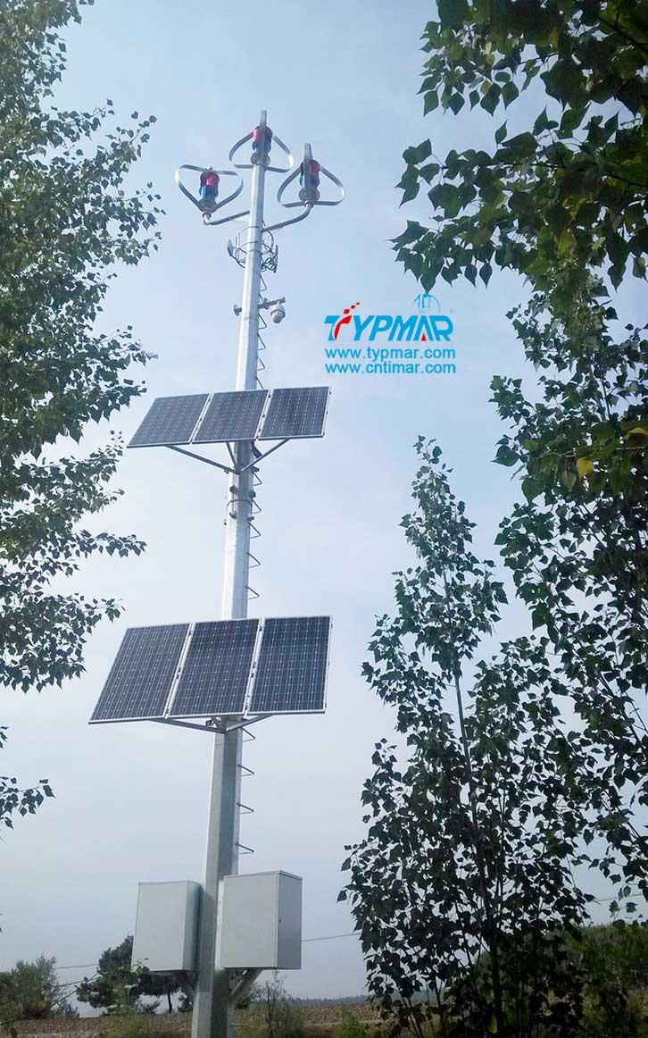 辽宁朝阳文物保护区监控供电系统 风光互补监控