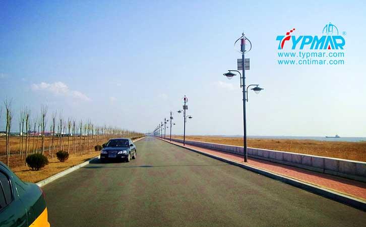 辽宁营口风光互补路灯工程 风力发电机300W