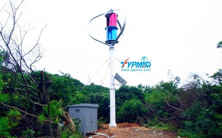 汕头南澳岛工程 风力发电机1000W