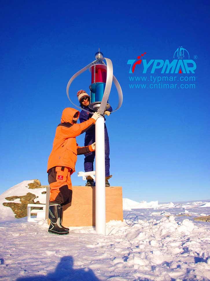 中国南极科考队风力供电系统