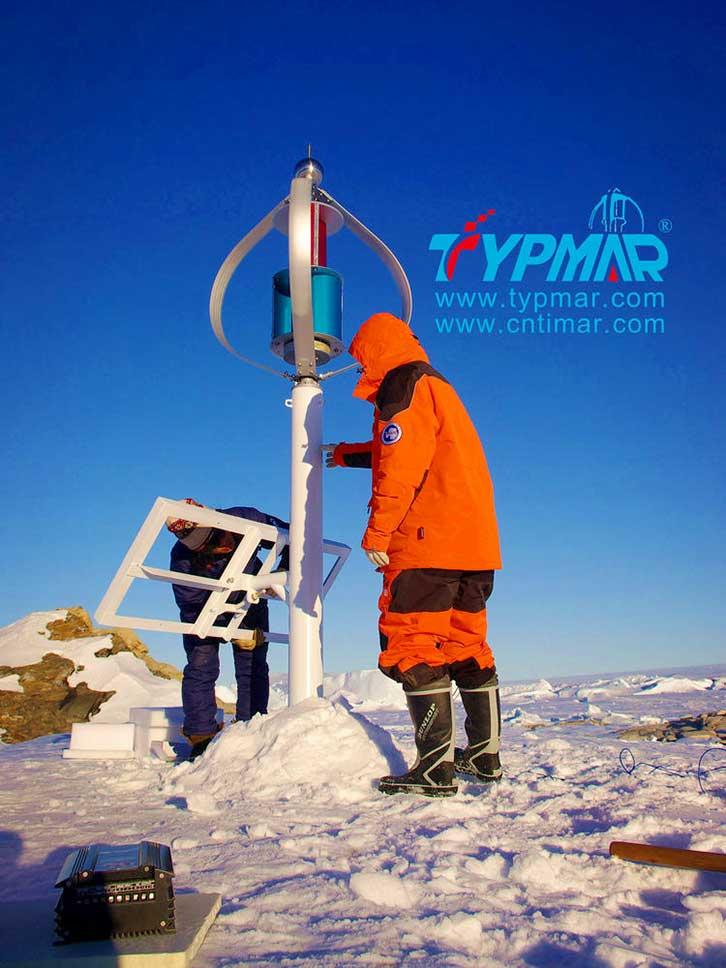 中国南极科考队风力供电