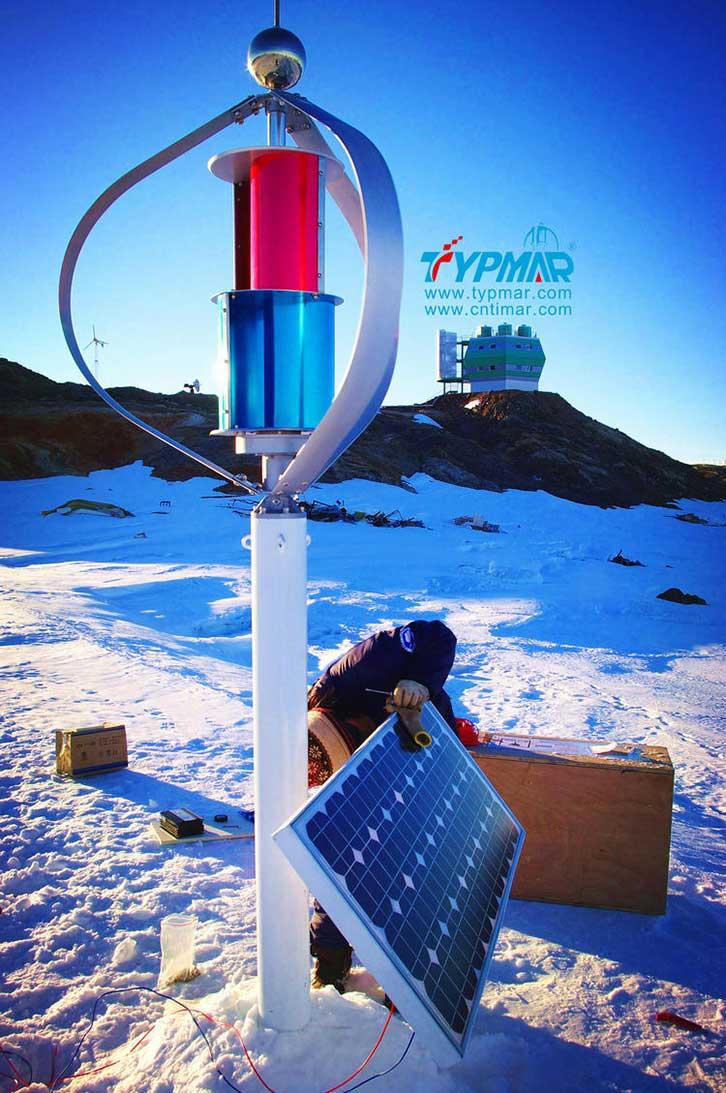 中国南极科考队风力供电系统 风力发电机